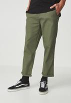 Cotton On - Drake roller pant - khaki