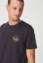 Cotton On - Tbar short sleeve tee - navy
