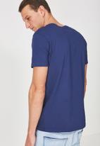 Cotton On - Tbar short sleeve tee - blue