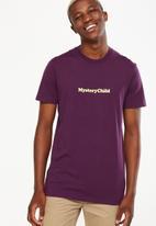Cotton On - Tbar short sleeve tee - purple