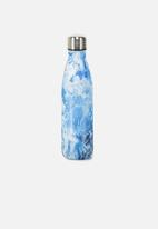 Typo - Metal drink bottle - blue