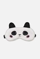 Typo - Premium eye mask - panda