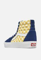 Vans - SK8 - Hi - true blue/yellow