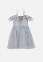 Cotton On - Iris tulle dress - lilac