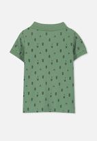 Cotton On - Kenny polo tee - green