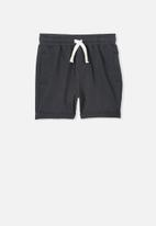 Cotton On - Kids henry shorts - charcoal