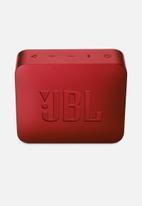 JBL - Go 2 portable speaker - red