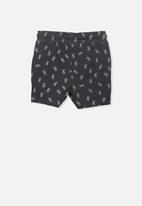 Cotton On - Henry slouch shorts - black