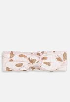 Cotton On - Baby knotted headband - pink