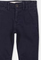 Cotton On - Oscar chino pants - navy
