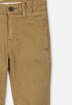 Cotton On - Oscar chino pants - khaki