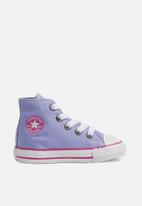Converse - Infant Chuck Taylor All Star hi - purple