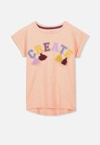Cotton On - Anna short sleeve tee - peach