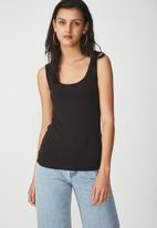 Cotton On - Tank top - black