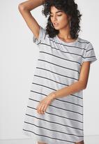 Cotton On - T-shirt dress - grey