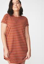 Cotton On - T-shirt dress - orange