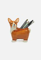 Typo - Pen holder - Georgy The Corgi