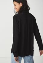 Cotton On - Shirt - black