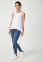 Cotton On - Olivia tank - white