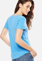 Cotton On - Crew T-shirt - blue