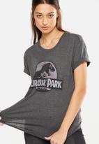 Cotton On - Tbar foxx T-shirt - charcoal