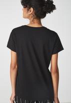 Cotton On - Tbar foxx T-shirts - black