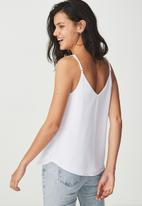 Cotton On - Astred cami - white