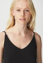 Cotton On - Astred Cami - black
