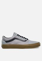 Vans - Vans Old Skool Gum outsole - alloy/black