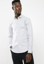 New Look - Double collar shirt - grey