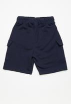 Superbalist - Draw cord utility shorts - navy