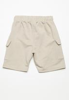Superbalist - Draw cord utility shorts - beige