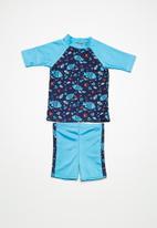 Superbalist - Kids boys short sleeve sun protection set - multi