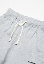 Superbalist - Draw cord utility shorts - grey