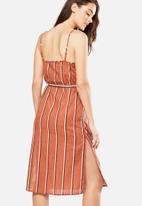 Cotton On - Woven Marce midi slip dress - multi