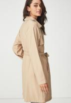 Cotton On - Soft mid trench - beige