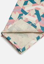 Grey Gardens - Geometric napkin set of 2 - multi