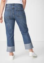 Cotton On - Baggy boyfriend jean - blue
