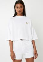 PUMA - Retro top Puma - white