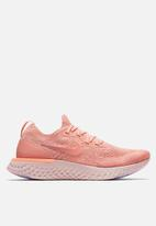 Nike - Epic React Flyknit - Rust Pink / Tropical Pink
