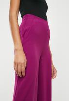 Missguided - Wide leg trousers - purple