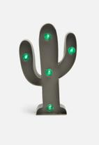 Typo - Shaped mini marquee light - cactus