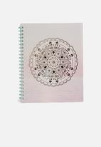 Typo - A4 campus notebook 240 page - dream catcher sunset