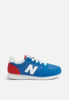New Balance  - Kids KL220BBY 70's classic running - royal blue & red