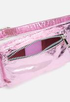 Missguided - Metallic waist bag - purple