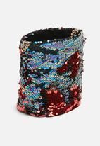 Missguided - Sequin cross body bag - multi