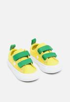 Converse - Infant One star 2v - yellow & green