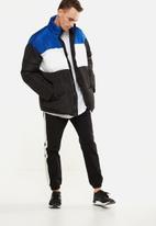 Cotton On - Drake cuffed pant - black & white
