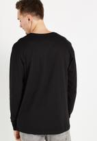 Cotton On - Tbar long sleeve tee - black