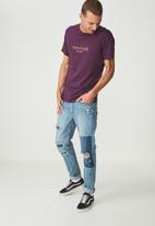 Cotton On - Tbar tee - purple